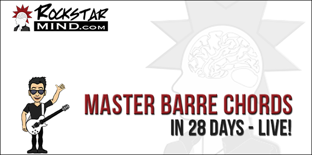 Master Barre Chords In 28 Days (featured)